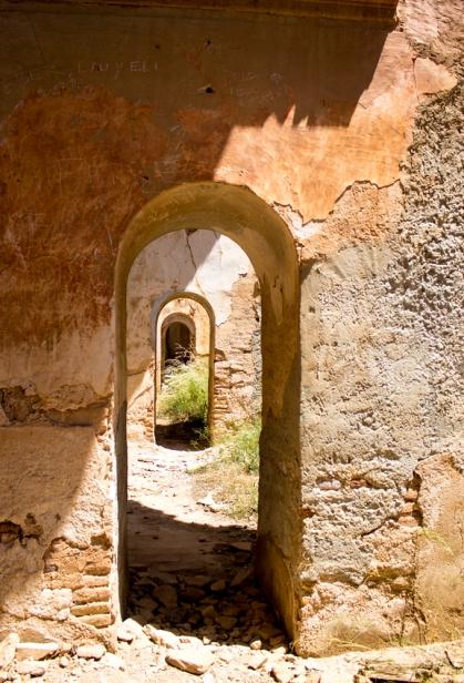 Interior de la iglesia, donde uno se puede perder en sí mismo
