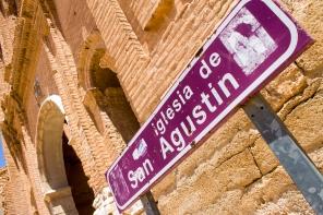 La otra gran iglesia de Belchite viejo
