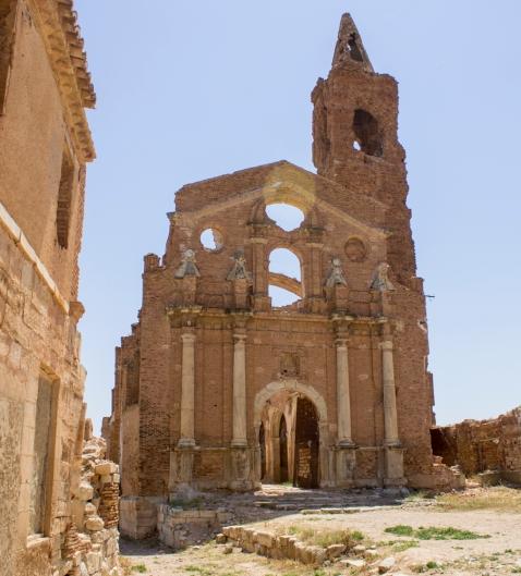 Iglesia de San Martín. En su interior se siente una energía especial