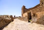 Así nos despedimos de Belchite, con ruinas y desolación. Un monumento arquitectónico que nos avisa de los horrores de una guerra fratricida