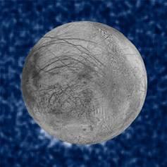 Fotografía de la NASA sobre el descubrimiento en Europa